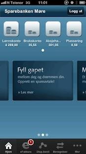 Sparebanken Møre - screenshot thumbnail