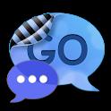 Go SMS Pro Theme Soft Blue logo