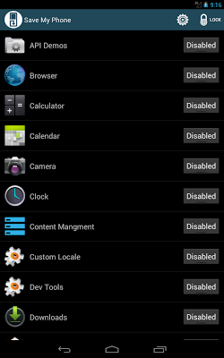 Save Me control your apps free - screenshot