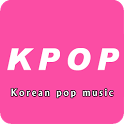 KPOP Korean pop music icon