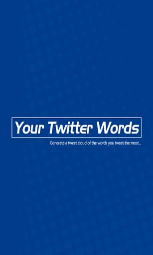 YourTwitterWords