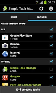 Simple Task Manager Free screenshot 1