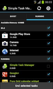 Simple Task Manager Free - screenshot thumbnail