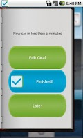 Screenshot of Goal Do+ (GoalD+)