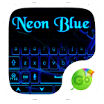 Neon Blue GO Keyboard Theme 1.85.5.82 Apk