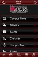 Screenshot of University of Central Missouri