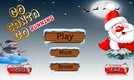 Go Santa Go Running