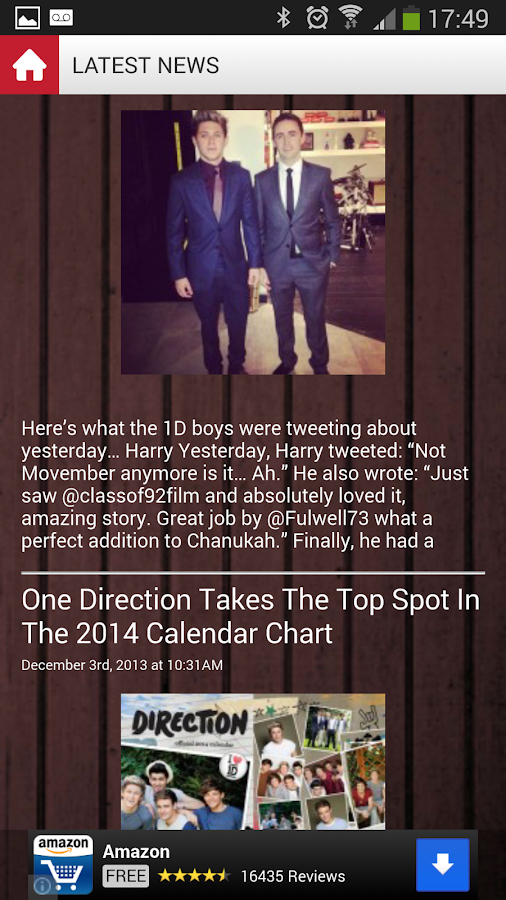 One Direction Planet - screenshot