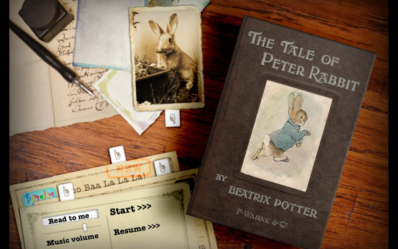 PopOut! The Tale of Peter Rabbit: A Pop-up Story- screenshot