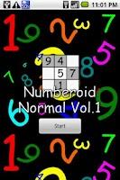Screenshot of Numberoid Normal Vol.1