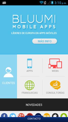 Bluumi Mobile Apps