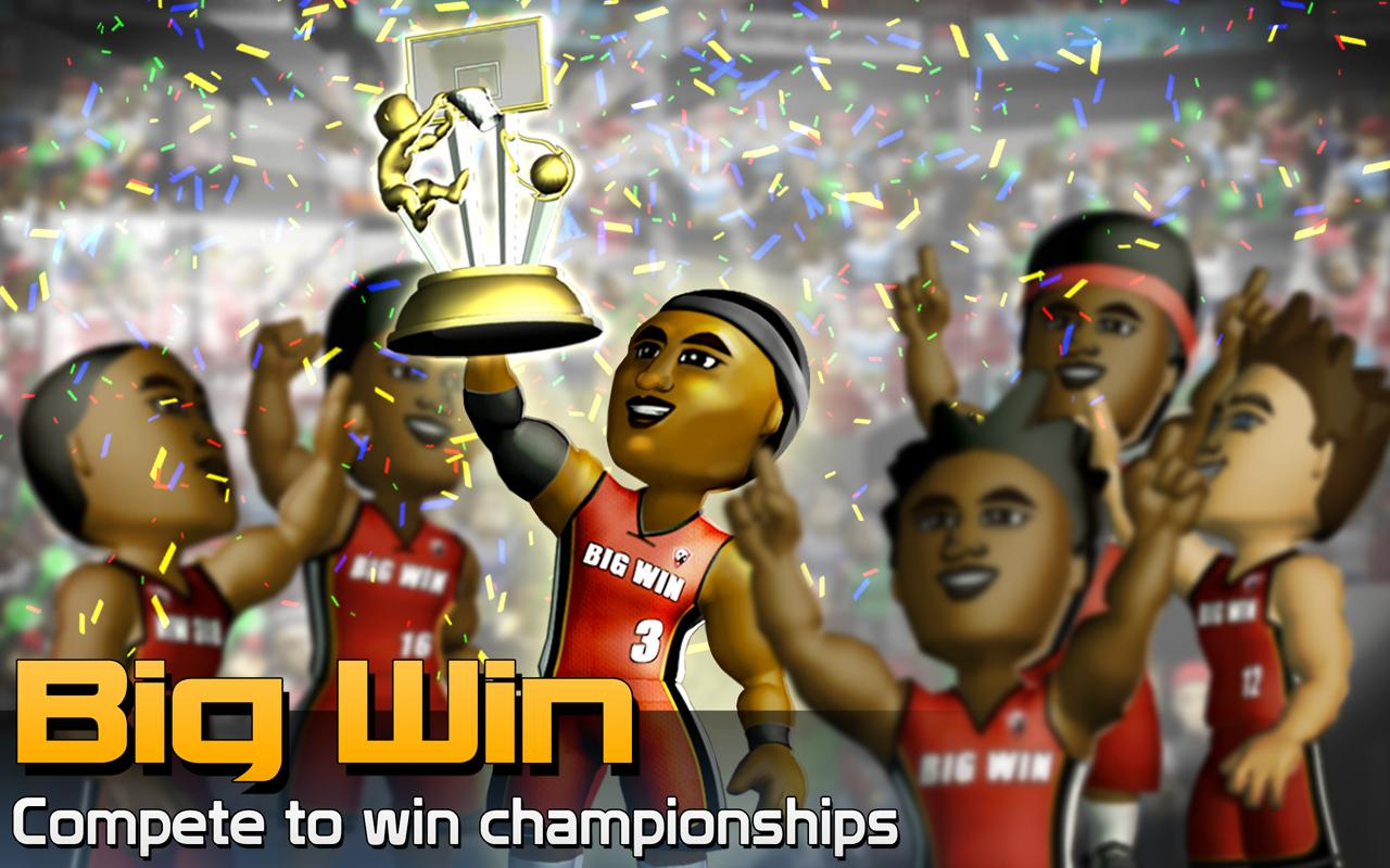 BIG WIN Basketball- screenshot