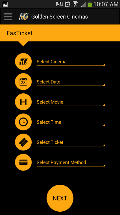 Golden Screen Cinemas- screenshot