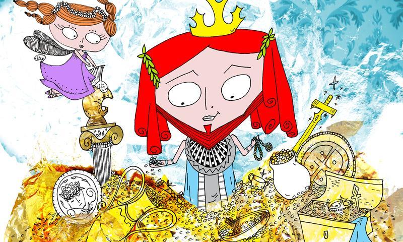 Ο βασιλιάς Μίδας- screenshot