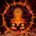 Mystical Skull Live Wallpaper icon