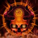 Mystical Skull Live Wallpaper icon