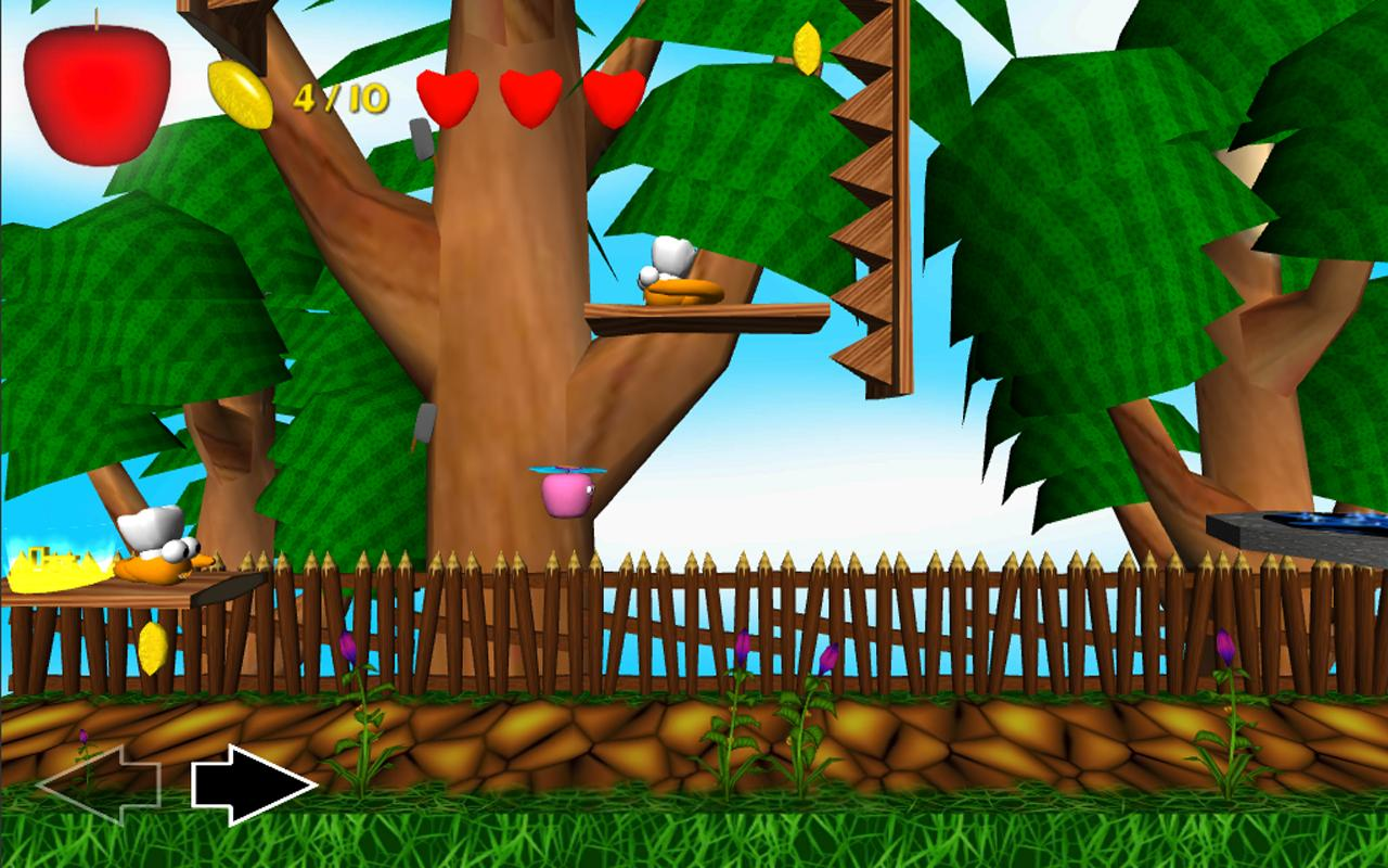 Apple Avengers Free Platformer- screenshot