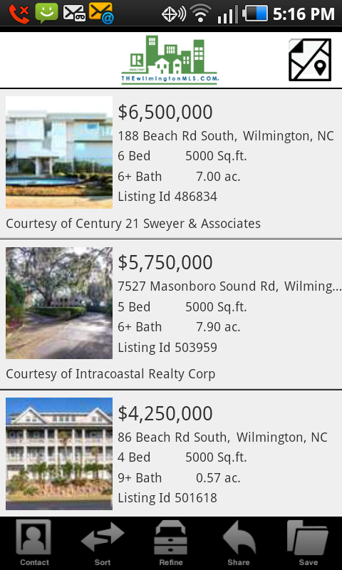 SouthEast NC Real Estate- screenshot