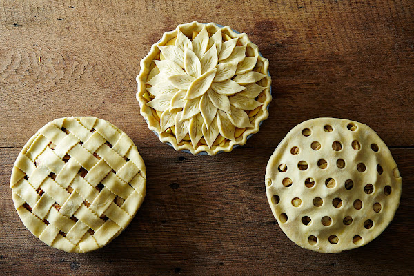 Dress your pies up.