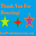 Donation $1 Issa Productions logo