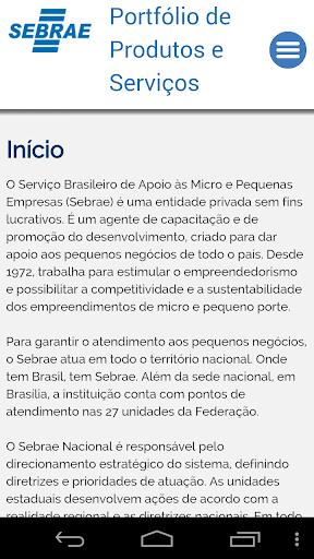 Portfólio Sebrae RJ