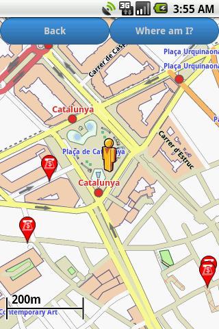 Barcelona Amenities Map free