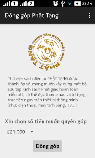 Đóng góp Phật Tạng