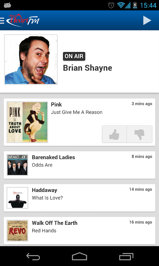 Heart FM - screenshot