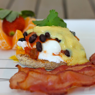 Eggs benedict Huevos Rancheros Style