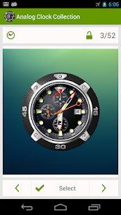 Analog Clock Wallpaper/Widget- screenshot thumbnail
