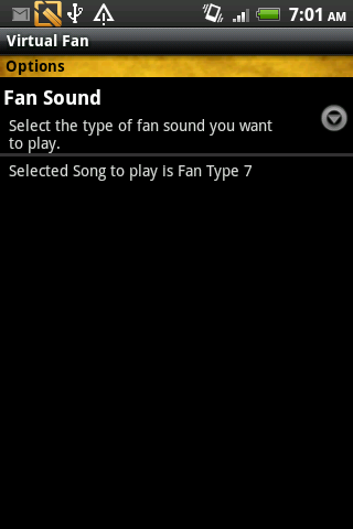 Virtual Fan- screenshot
