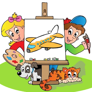Kids Coloring Book For