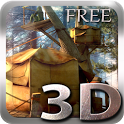 Tree Village 3D Free lwp icon