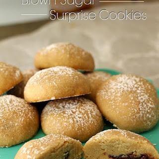 Brown Sugar Surprise Cookies.
