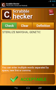 Scrabble Checker - screenshot thumbnail