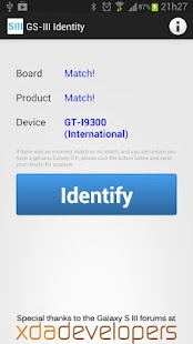 Galaxy SIII Identity- screenshot thumbnail