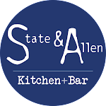 Logo for State & Allen - Kitchen/Bar