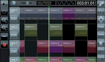 Screenshot of Zquence Studio