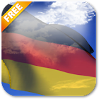 3D Deutschland fliegt Live-Tapete icon