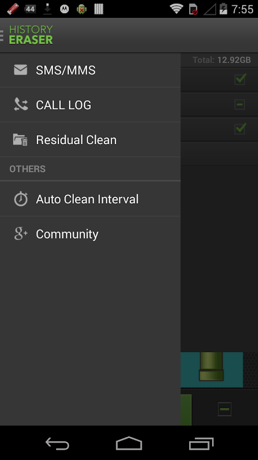 History Eraser - Privacy Clean - screenshot