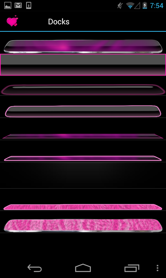 Pink Neon Complete 4 Themes - screenshot