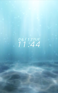 In the sea Live Wallpaper