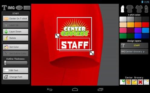 T-shirt Designer - screenshot thumbnail