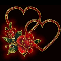 Hearts And Roses Live Wallpape icon