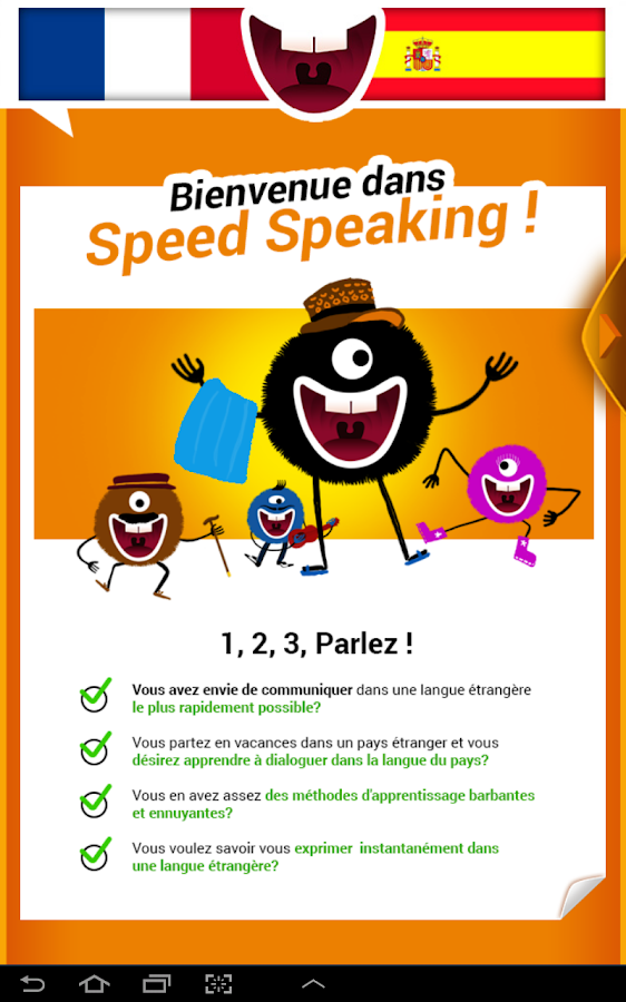 Parlez Espagnol-Speed Speaking- screenshot