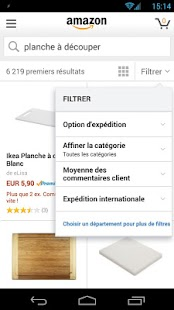 Boutique Amazon – Vignette de la capture d'écran