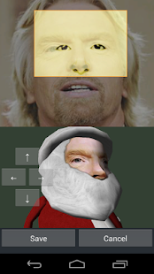 Santa Face Live Wallpaper - screenshot thumbnail