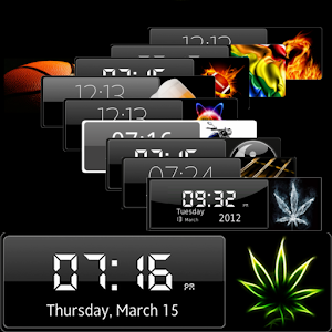 Clock Widget HD