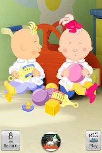 Talking Baby Twins - screenshot thumbnail