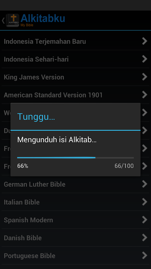 Alkitabku: Bible & Devotional- screenshot